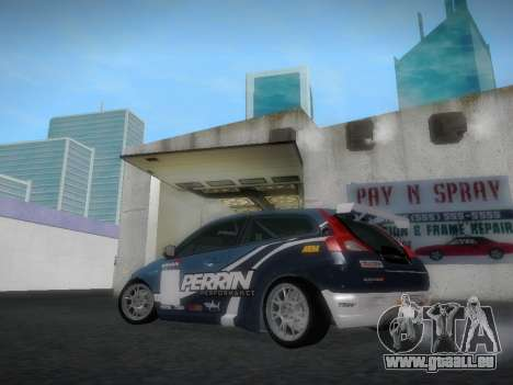 Volvo C30 Race für GTA San Andreas Rückansicht