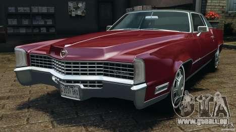 Cadillac Eldorado 1968 pour GTA 4