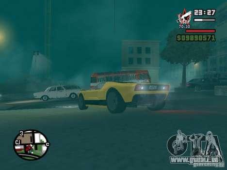 La balle de la GTA TBoGT FIV pour GTA San Andreas vue de côté