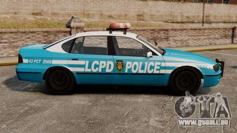 Declasse Merit Police Cruiser ELS für GTA 4 linke Ansicht