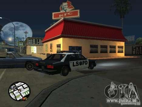 Neuen Texturen-Restaurants für GTA San Andreas achten Screenshot