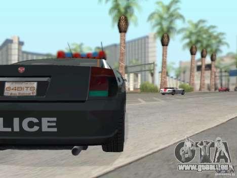 GTA 4 TBoGT von Buffalo für GTA San Andreas obere Ansicht