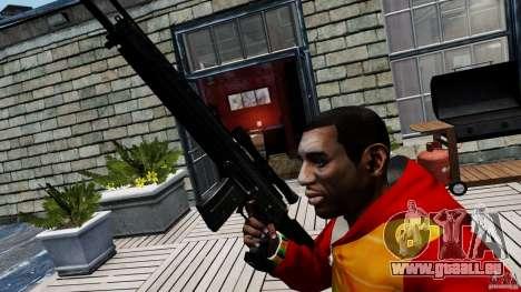 SIG SG 550 Sniper pour GTA 4 troisième écran