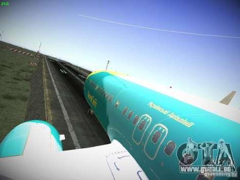 Boeing 737-84R AeroSvit Ukrainian Airlines pour GTA San Andreas vue arrière