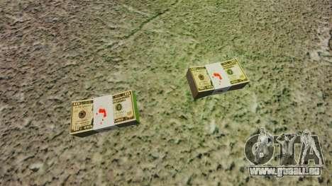 L'encours des billets en coupures de 10 $ des Ét pour GTA 4 secondes d'écran