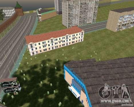 Nižegorodsk v0.1 BETA pour GTA San Andreas deuxième écran