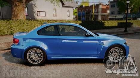 BMW 1M 2011 Carbon pour GTA 4 est une gauche
