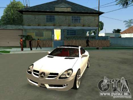 Mercedes Benz SLK 300 für GTA San Andreas