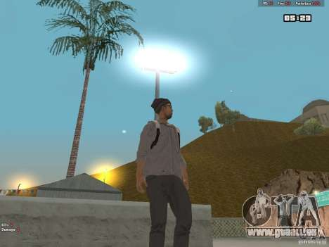 Skin Hipster v1.0 pour GTA San Andreas