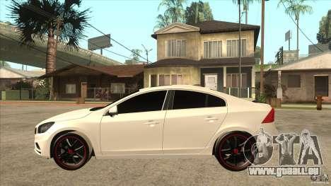 Volvo S60 für GTA San Andreas linke Ansicht