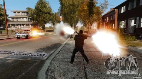 Les véritables dégâts des armes pour GTA 4 secondes d'écran