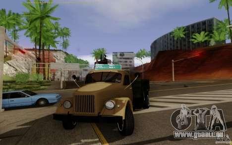 GAZ 51 pour GTA San Andreas laissé vue