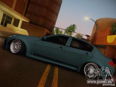 Infiniti G37 Sedan pour GTA San Andreas vue de côté