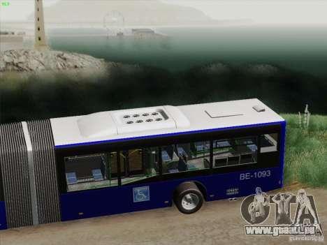 Remorque pour Design X 3 pour GTA San Andreas vue intérieure