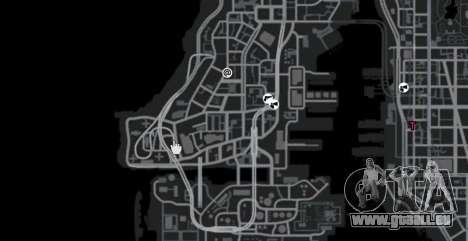 La piste dans le style de Gymkhana pour GTA 4 cinquième écran