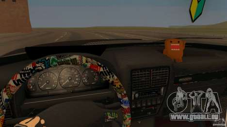 GAZ-310221 601 für GTA San Andreas zurück linke Ansicht