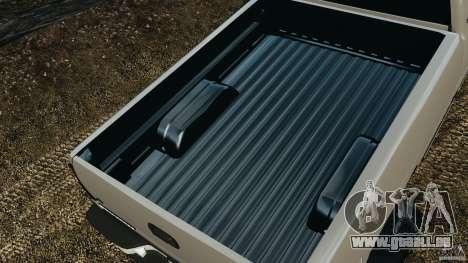 Chevrolet Silverado 2500 Lifted Edition 2000 pour GTA 4 est une vue de dessous