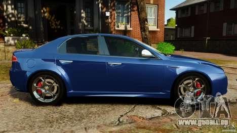 Alfa Romeo 159 TI V6 JTS für GTA 4 linke Ansicht