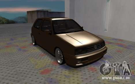 Volkswagen Golf Mk3 für GTA San Andreas linke Ansicht