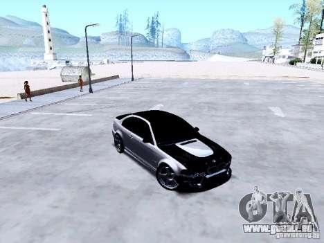 BMW 318i E46 Drift Style pour GTA San Andreas vue intérieure
