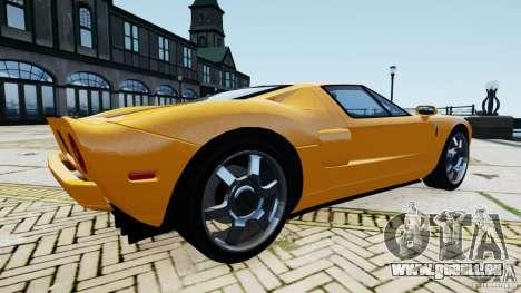 Ford GT 2005 v1.0 pour GTA 4 Vue arrière