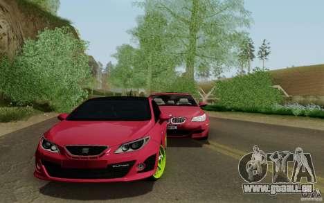 Seat Ibiza Cupra für GTA San Andreas zurück linke Ansicht