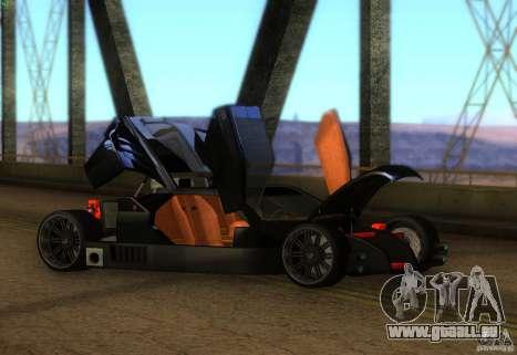Garde pour GTA San Andreas laissé vue
