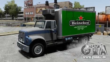 La nouvelle publicité pour camion Yankee pour GTA 4 Vue arrière