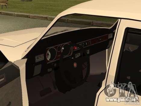 Volga GAZ 31013 pour GTA San Andreas vue arrière