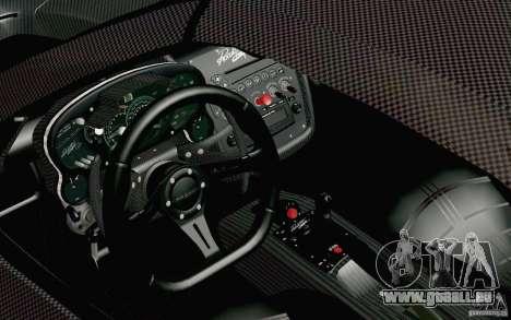 Pagani Zonda Cinque Roadster 2009 für GTA San Andreas rechten Ansicht