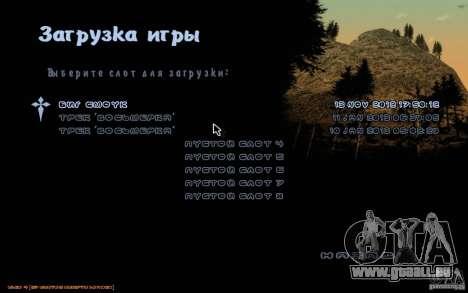 Nouvelle police pour GTA San Andreas deuxième écran