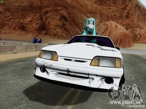 Ford Mustang Drift pour GTA San Andreas