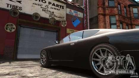 Super GTR Final pour GTA 4 Vue arrière de la gauche