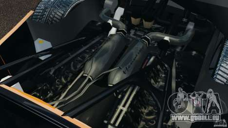 Hennessey Venom GT Spyder pour GTA 4 Vue arrière