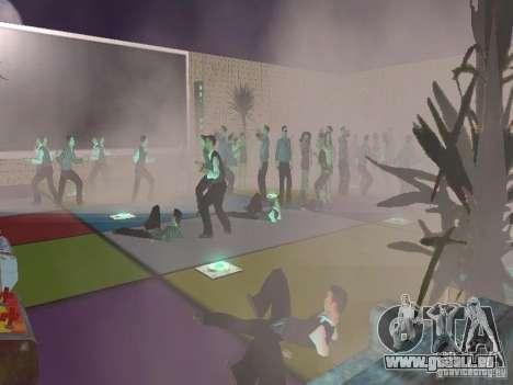 Club pour GTA San Andreas troisième écran