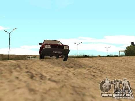 AZLK Moskvich 2141 für GTA San Andreas linke Ansicht