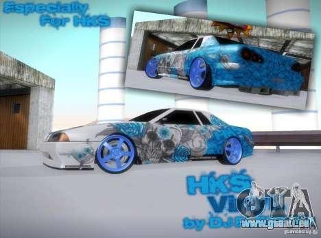 Équipe HKS vinyle pour GTA San Andreas