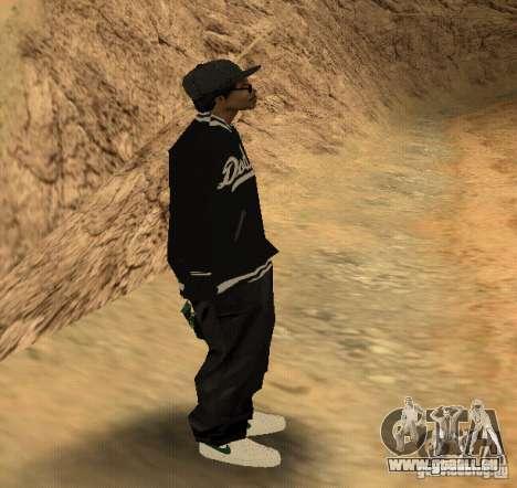 Peau Ryder pour GTA San Andreas troisième écran