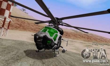 AH-2 Сrysis 50 C.E.L.L. hélicoptère pour GTA San Andreas