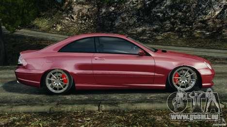 Mercedes-Benz CLK 63 AMG für GTA 4 linke Ansicht