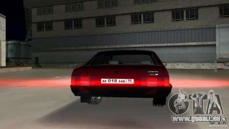 VAZ 21099 pour une vue GTA Vice City de la droite