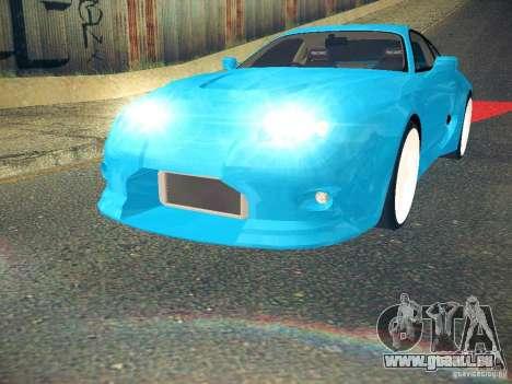 Toyota Supra VeilSide Fortune 2003 pour GTA San Andreas vue de droite