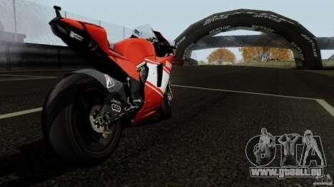 Ducati Desmosedici RR für GTA San Andreas rechten Ansicht
