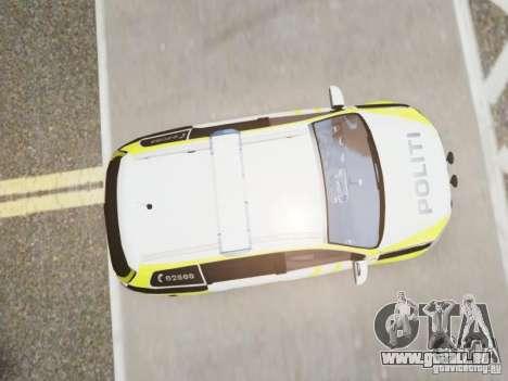 Volkswagen Passat B7 Variant 2012 pour GTA 4 Vue arrière