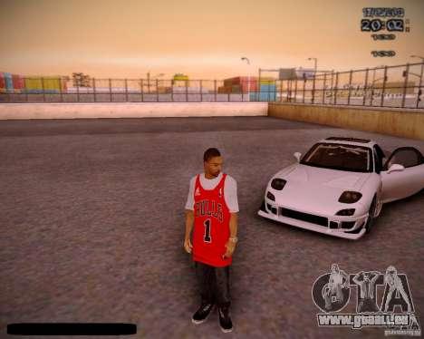 Haut Chicago Bulls für GTA San Andreas
