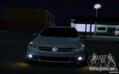 Volkswagen Golf G5 für GTA San Andreas Innenansicht