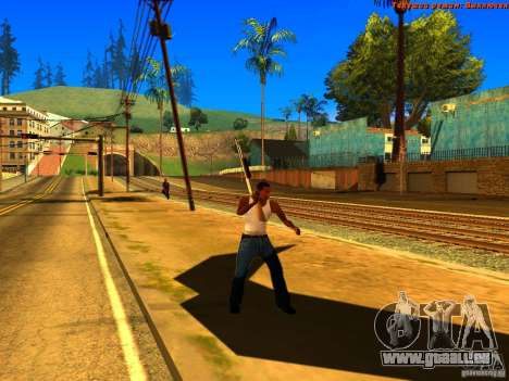 New Animations V1.0 für GTA San Andreas neunten Screenshot