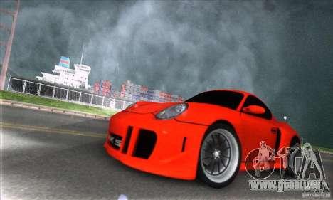 Porsche Cayman S v2 für GTA San Andreas Rückansicht