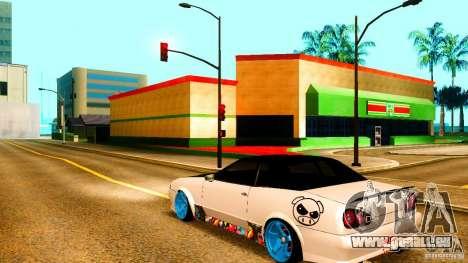 Black and White Elegy für GTA San Andreas linke Ansicht