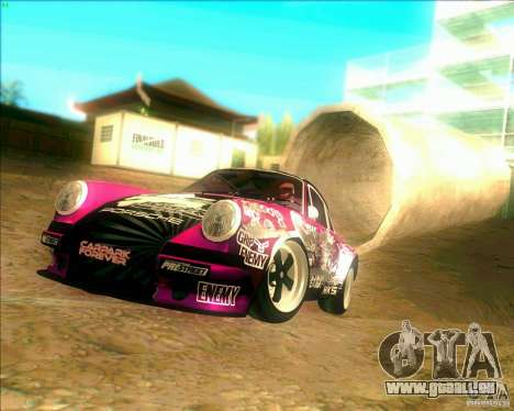 Porsche 911 Pink Power pour GTA San Andreas